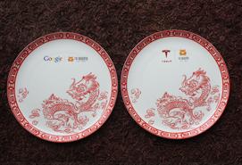 牛蛙网朋友携博玉骨质瓷礼品访问美国谷歌和著名汽车制造商特斯拉