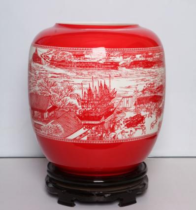 骨质瓷花瓶