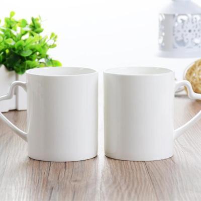 骨质瓷水杯,骨质瓷会议杯logo定制,陶瓷水杯定制,陶瓷会议杯